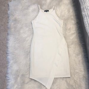 Missguided White bodycon cocktail Dress Uk 10 US 6